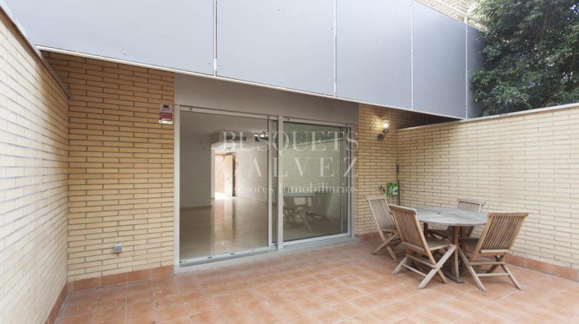 duplex en venta en Barcelona terraza jardin