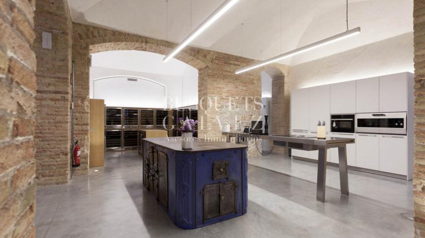 piso ático en venta en Barcelona casa Burés